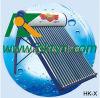 Calentador de agua solar precalentado