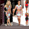 Sexy Ladies Floral Printed Bodycon Party Cocktail Summer Dress (TKF894)