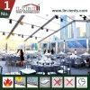 20X40m 공간 지붕 호화스러운 당을%s 투명한 결혼식 천막