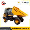 5 Ton 4 * 4 Wheel Drive Hydraulic Site Mini Dumper