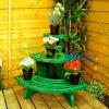 estante Potted de la planta del jardín al aire libre de interior 3-Tier