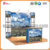 Fiera commerciale LED Spiral Towel Show Caso Display Stand di Tower Portable Promotion Counter Folding Table Pop in su Display Exhibition Booth del tornado