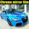 Vinilo azul del abrigo del cambio del color del coche del cromo