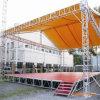 L'alluminio esterno dell'altoparlante della casella quadrata della visualizzazione di concerto monta il fascio dell'audio dello schermo di illuminazione LED