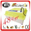 Hachure de l'incubateur complètement automatique bon marché transparent de marque de 48 oeufs