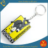 Chine High Quality Wholesale Customized Shape PVC Key Chain ou Ring comme Publicité Souvenir