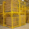 Steel pieghevole Wire Mesh Storage Container per Industrial Warehouse