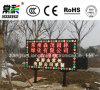 Três quadro de avisos da tela de indicador do diodo emissor de luz da cor P16 para o anúncio