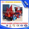 14m Truck Mounted Aerial Work Platform, Articulated Aerial Platform