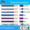 transparenter Lautsprecher-1.5mm2 Kabel-, Roter und Schwarzerparalleler elektrischer Draht