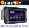 フォルクスワーゲンPassat Cc Golf VI (9001G)のためのBluetooth GPSのHifimax Car DVD Player
