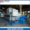 Four en aluminium de chauffage de billette d'alimentation latérale