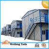 Casa prefabricada de acero competitiva del campo de trabajos forzados