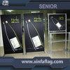 Enrouler le stand de drapeau d'étalage