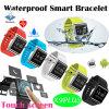 Bracelet de Bluetooth avec le moniteur de fréquence cardiaque et de pression sanguine (X9PLUS)