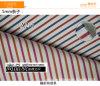 줄무늬 연약한 CVC 털실에 의하여 염색되는 셔츠 직물