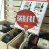 Support en plastique de signe de bruit pour les magasins de détail