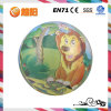 Pvc Inflatable Printing Lion Ball voor Play en Sports (YY12-02)