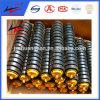 Rodillos de rodillos de impacto rodillos transportadores pesados para sistema de cinta transportadora