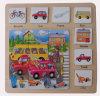 Brinquedos de madeira do enigma de madeira educacional (34773)