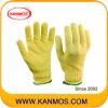 Лучший перчатка Горячая кевлар трикотажные промышленной безопасности работы (61001KV)