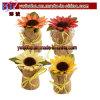 Подарки солнцецветов сада подарка промотирования флористической обернутые мешковиной самые лучшие выдвиженческие (G8099)
