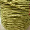 Alambre colorido del cable del algodón del cable de la tela del cable de la materia textil del alambre cruzado