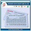 Smart card plástico impresso útil da escola do PVC