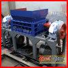 PVC del PE que recicla la máquina con la desfibradora doble del eje
