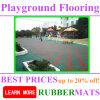 Venta al por mayor certificada EN1177 juegos de goma alfombra del piso