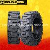 공장 공급 단단한 Skidsteer 타이어, 두 배 동전 타이어