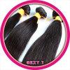 perucas humanas retas de seda indianas de Freetress do cabelo do Virgin 7A