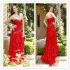 2012 Lastest Style Cascading Ruffle Prom Dress Du8