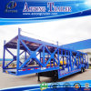 (4-20units) Double camion semi Traile de transport de véhicule d'essieux