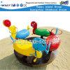 Giro dei bambini sul giocattolo Hf-21406 del cavallo di oscillazione della strumentazione del campo da giuoco
