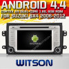 鈴木Sx4のためのWitson Android 4.4 System Car DVD