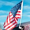 Bandierina all'ingrosso della finestra di automobile di alta qualità/bandiera di plastica del Flagpole