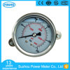 2.5  63mm Stainless Steel Wika Type Liquid Filled Pressure Gauge with Clamp