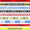 주의 테이프를 추적하는 최신 판매 LDPE/HDPE/OPP/Al