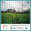 農場の塀の金網の鋼線の網の塀