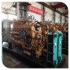 le déchet du bois 700kw a vu la centrale de production d'électricité de gazéification de matériel de générateur à gaz de biomasse de la poussière