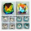 Steen van het Kristal van de Parel van het Glas van het Kristal van de manier de Vierkante (DZ-3011)