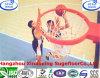 De vriendschappelijke Waterdichte Met elkaar verbindende OpenluchtBevloering van het Hof van het Basketbal