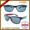 F14025 vendem por atacado óculos de sol do sentido de forma da alta qualidade