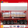 Edelstahl 40ft oder 20ft ISO Standard Tank Container