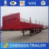 China 3 árboles 60 toneladas de cargo del transporte de acoplado de la pared lateral