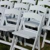 Weißer Wimbledon-Stuhl