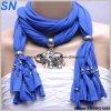 2014 Sjaals van de Tegenhanger van de Dame van de Manier de Blauwe (SNSMQ1009)