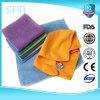 De hoge Absorberende Schoonmakende Gespleten Handdoek Microfiber van de Oplossing
