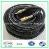 ISO9001黒いゴム製管の編みこみのホースの酸素のホース